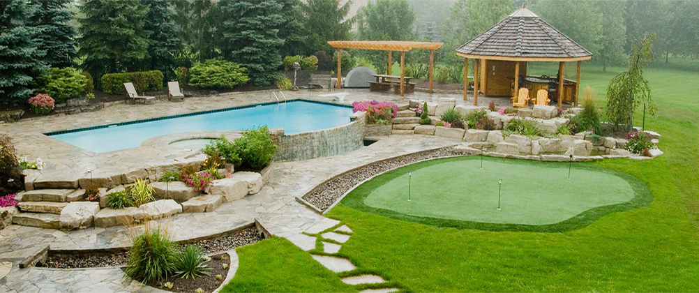 Create an outdoor oasis right here in your western Illinois yard!